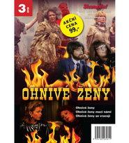 Kolekce Ohnivé ženy - 3 DVD