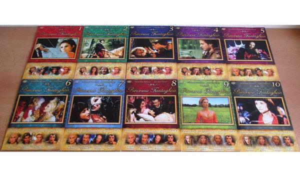 Kolekce Princezna Fantaghiro - DVD