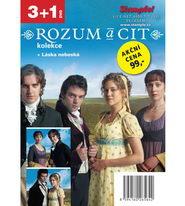 Kolekce Rozum a cit - 3+1 DVD