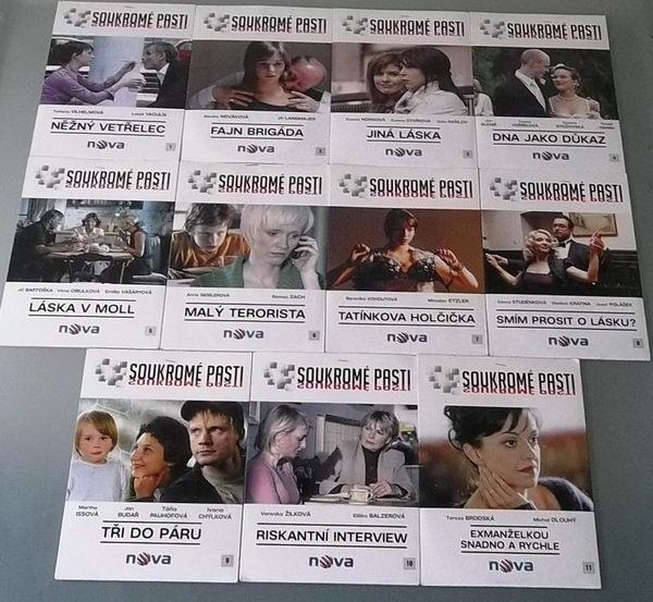 Kolekce Soukromé pasti - DVD