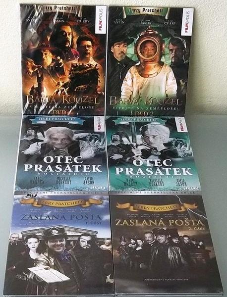 Kolekce Terry Pratchett - DVD