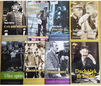 Kolekce Vlasta Burian - 8 DVD