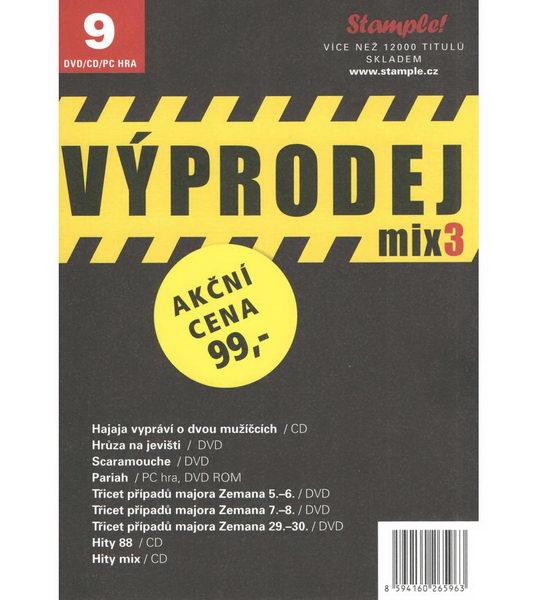 Kolekce Výprodej mix 3 - DVD