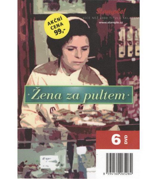 Kolekce Žena za pultem - DVD