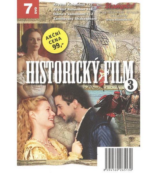 Kolekce historický film 3 - DVD