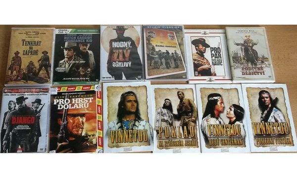 Kolekce nejlepší westerny - DVD