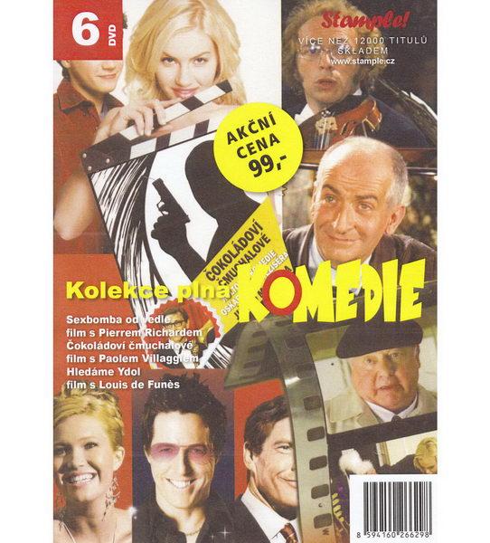 Kolekce plná komedie - DVD