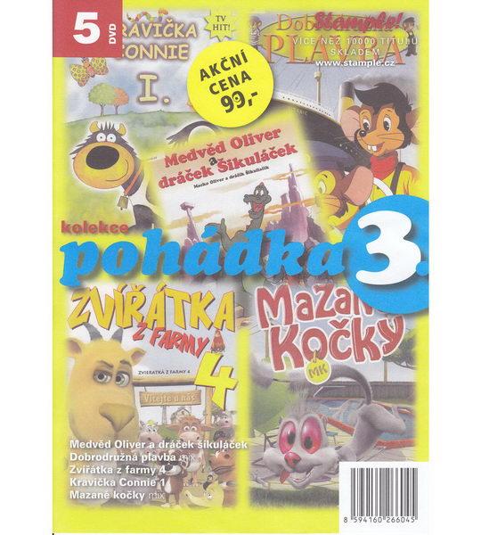 Kolekce pohádka 3 - DVD