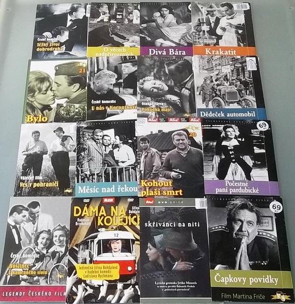 Kolekce starých českých filmů - DVD