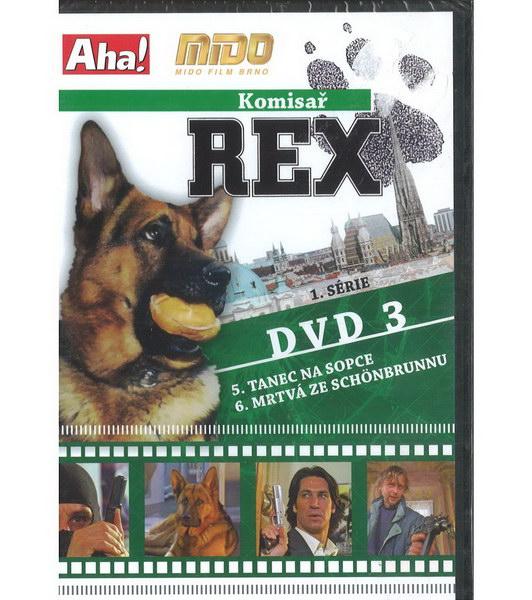 Komisař Rex 1. série DVD 3