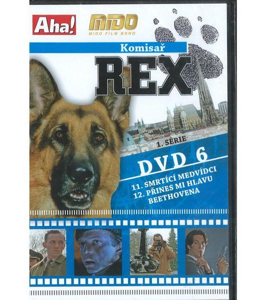 Komisař Rex 1. série DVD 6 ( slim ) - DVD