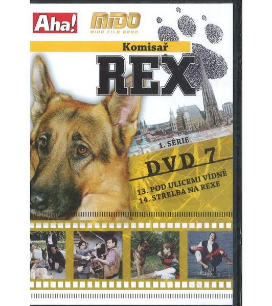 Komisař Rex 1. série DVD 7