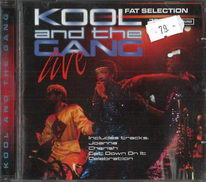Kool and the gang Live - Fat selection - CD