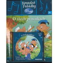 Kouzelné pohádky Disney 26. - O třech prasátkách + CD