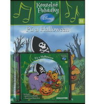 Kouzelné pohádky Disney 31. - Pú a Halloween + CD