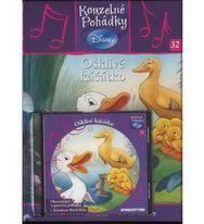 Kouzelné pohádky Disney 32. - Ošklivé káčátko + CD