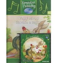 Kouzelné pohádky Disney 45. - Velký závod želváka a zajíce + CD