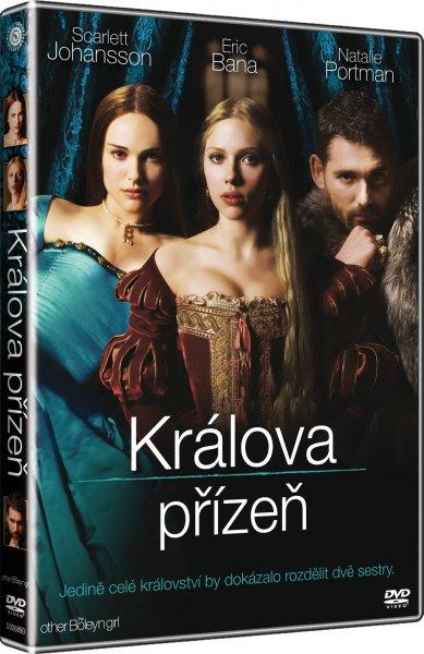 Králova přízeň - DVD plast