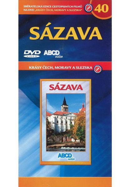 Krásy Čech, Moravy a Slezska 40 - Sázava - DVD