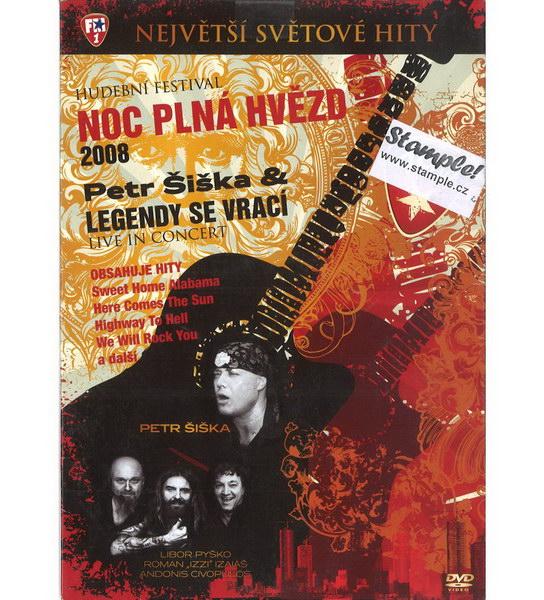 Legendy se vrací - Noc plná hvězd 2008 - CD