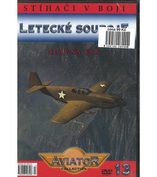 Letecké souboje 13 - Slavná esa - DVD