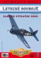Letecké souboje 7 - Zabiják stíhaček Zero - DVD