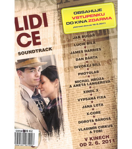 Lidice - soundtrack - DVD