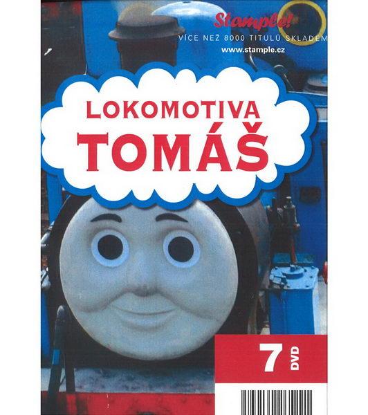 Lokomotiva Tomáš - Kolekce 7 DVD (Kolekce papírových pošetek)