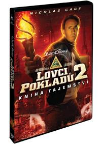 Lovci pokladů 2 Kniha tajemství DVD