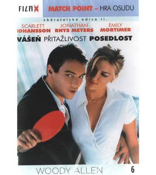 Match Point - Hra osudu - DVD