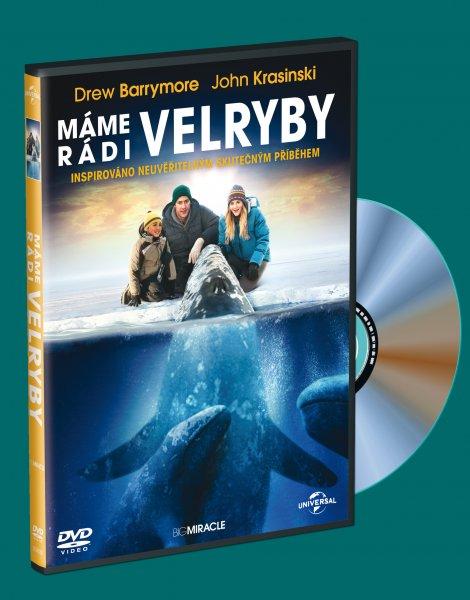 Máme rádi velryby - DVD plast