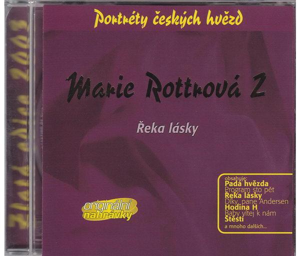 Marie Rottrová 2 - Řeka lásky - Zlatá edice 2013 - CD