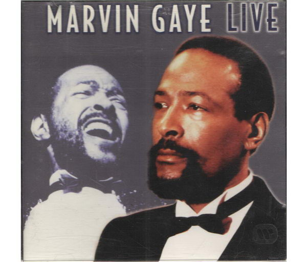Marvin Gaye - LIVE - CD