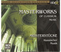 Masterworks of Classical Music - 10 CD