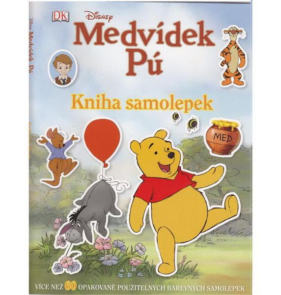 Medvídek Pú - Kniha samolepek