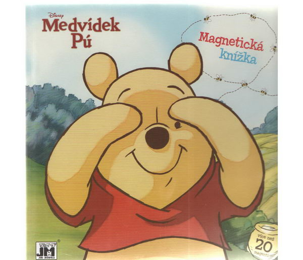 Medvídek Pú - Magnetická knížka
