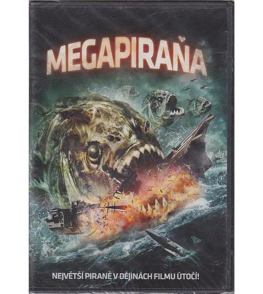 Megapiraňa - DVD (bazarové zboží)