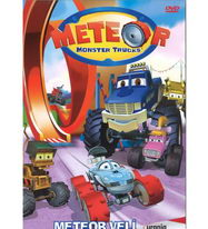 Meteor: Monster trucks - Meteor velí - DVD