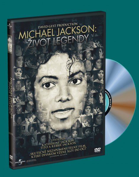 Michael Jackson: Život legendy - DVD