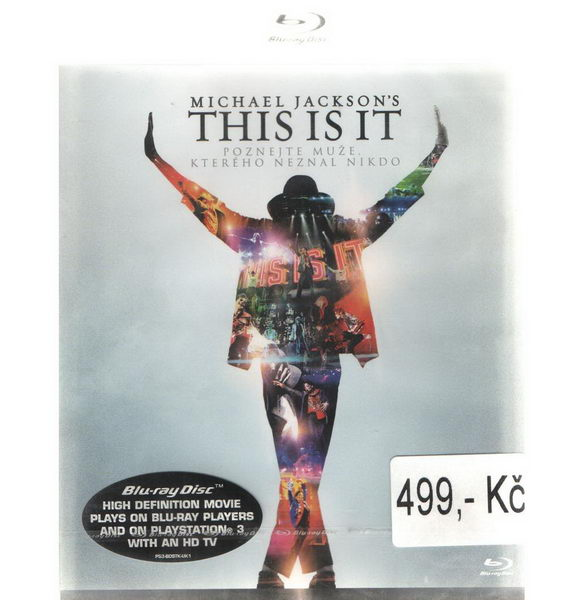 Michael Jackson's This Is It - BD