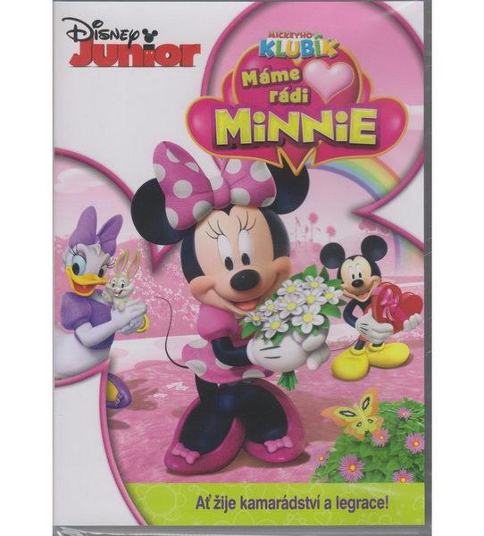 Mickeyho klubík - Máme rádi Minnie - DVD