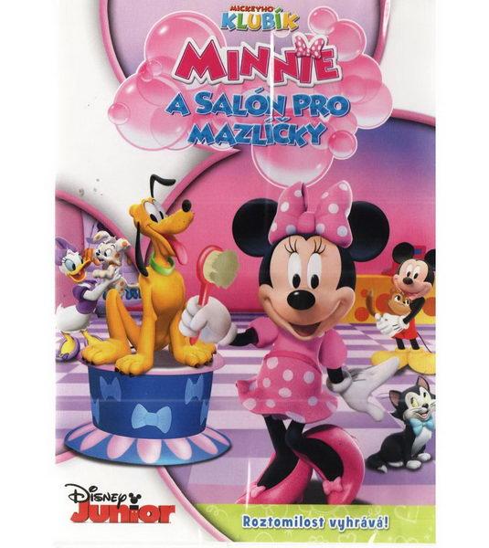 Mickeyho klubík - Minnie a salón pro mazlíčky - DVD