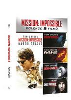 Mission: Impossible kolekce 1-5 - DVD