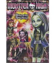 Monster High: Monstrózní splynutí - DVD
