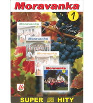 Moravanka - Super hity 1 - CD