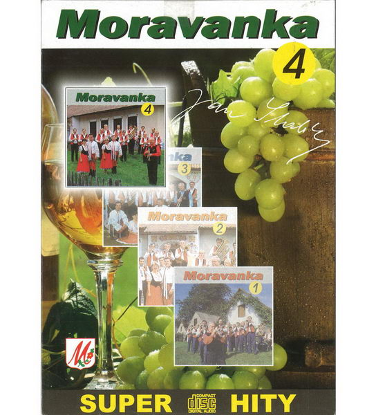 Moravanka - Super hity 4 - CD