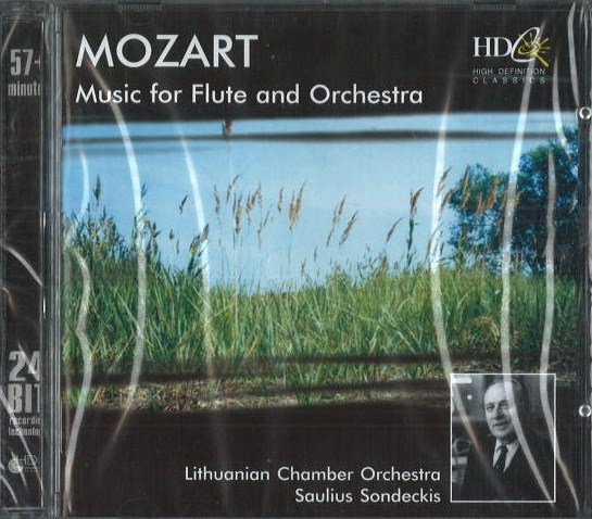 Mozart - Music for Flute and Orchestra - CD