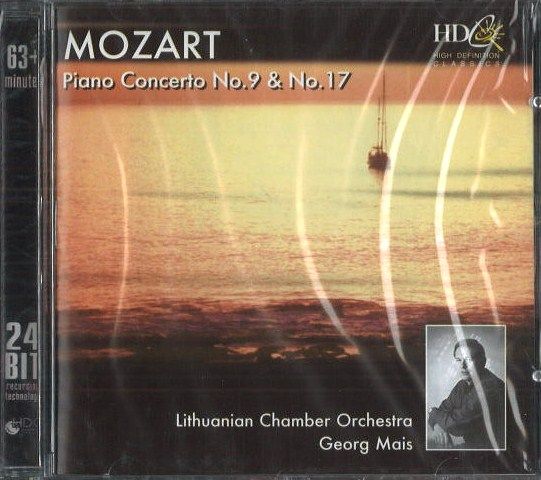 Mozart - Piano Concerto no. 9 / no. 17 - CD