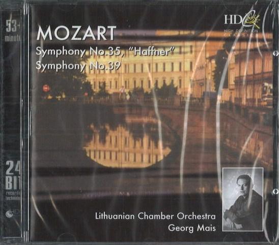 Mozart - Symphony no. 35 / no. 39 - CD