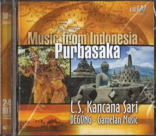 Music from Indonesia - Purbasaka - L.S. Kancana Sari - CD
